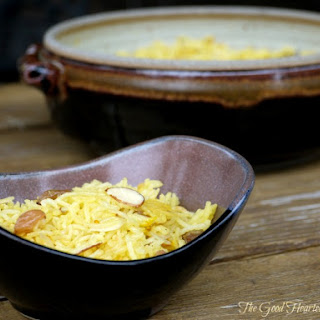 Sweet Yellow {Saffron} Rice