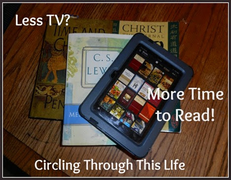 By watching less Netflix, I can increase time reading!