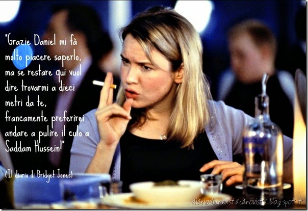 bridget jones pulire il culo a saddam hussain