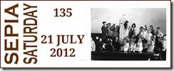 Sepia Saturday 135 July 21, 2012