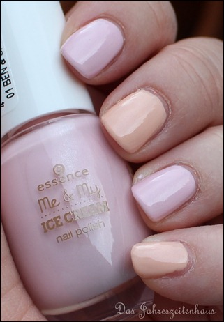 Essence Me and My Ice Cream  Nagellack ben & cherries icylicious 3