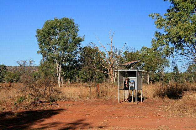 Phone box australian outback 2