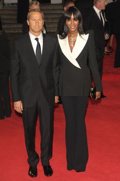 Naomi Campbell attends the Royal World Premiere of Skyfall