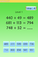 Screenshot of คณิตคิดเร็ว ป.3