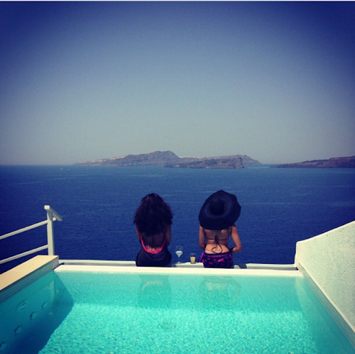 PHOTOS: Sylvia Nduka And Ene Maya's Vacation in Santorini Greece 22