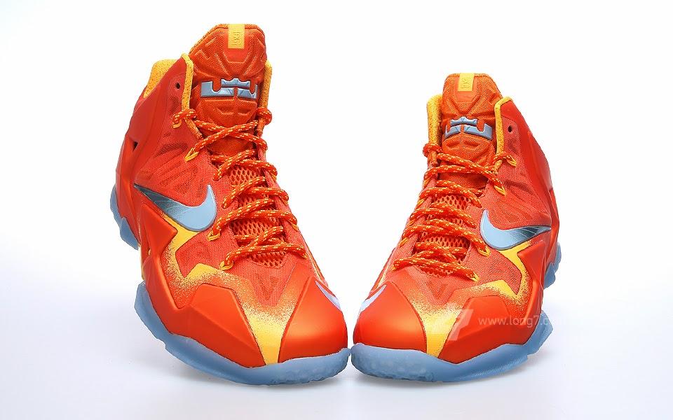 9e243ebaac0bb9 ... A Sizzling Look at Nike LeBron XI 8220Forging Iron8221 ...
