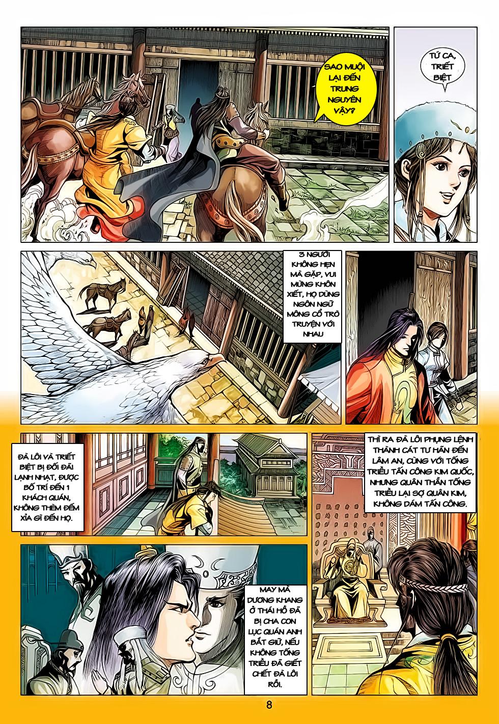 Anh Hùng Xạ Điêu anh hùng xạ đêu chap 61: thất tử chiến thiết thi trang 8