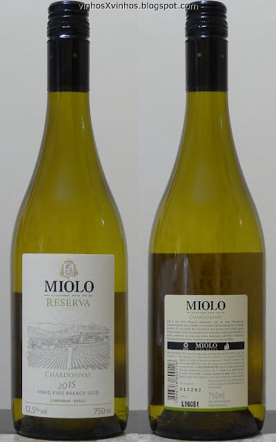 Vinho Miolo Reserva Chardonnay