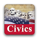 US Citizenship Civics Practice logo