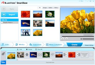 Immagine+0 BlazeVideo SmartShow Gratis con Seriale: Crea fantastiche presentazioni con le tue Foto con splendidi SlideShow ad effetto [Windows App]
