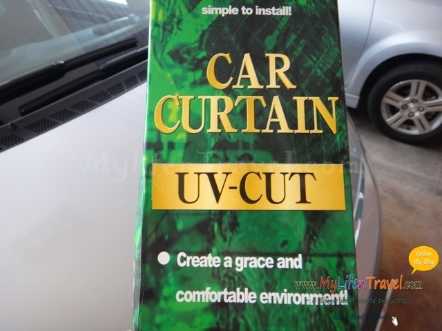 Car curtian uv cut