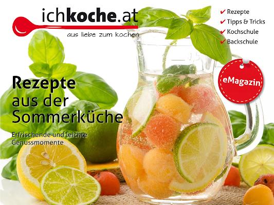 ichkoche.at eMag - screenshot