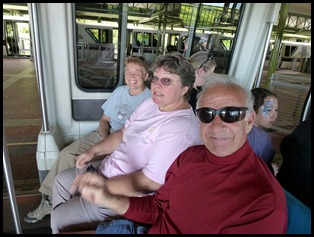 10 - Riding the Monorail