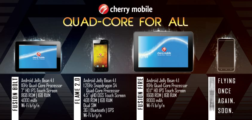 cherry mobile new quad core device