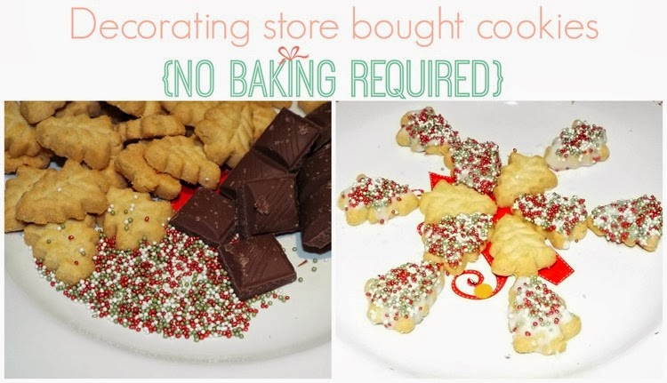 decorating store bought cookies no baking required