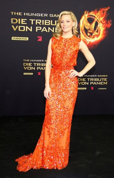 Elizabeth Banks Hunger Games Berlin premiere
