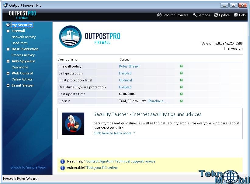 Outpost Firewall Pro v9.1.0.4643 Full