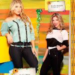 Angelica Jaramillo y Sofia Jaramillo Modelando D'Axxys Jeans Foto 41