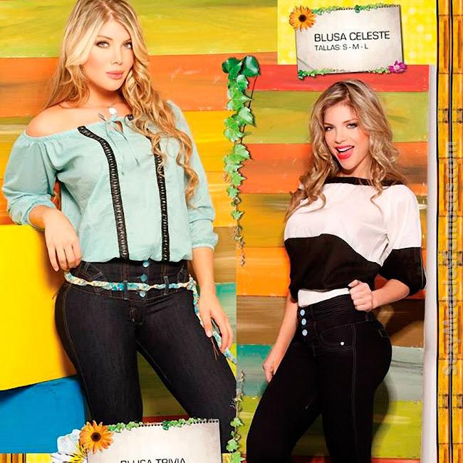 Angelica Jaramillo y Sofia Jaramillo Axxys Jeans Foto 41
