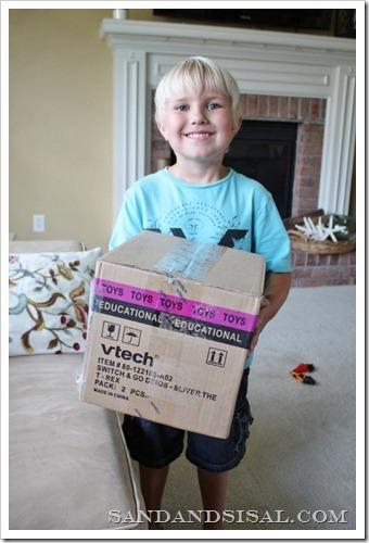 Vtech toy arrival