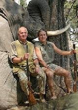 Juan Carlos hunting in Bostwana