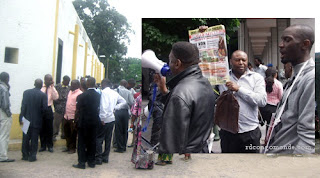 Un sit-in à Kinshasa pour la fermeture de maison Schengen.