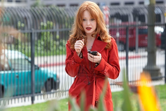 Lauren Ambrose is Jilly Kitzinger in Torchwood Miracle Day Escape to LA