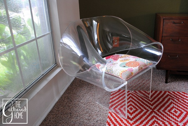 van horn lucite ribbon chair 4