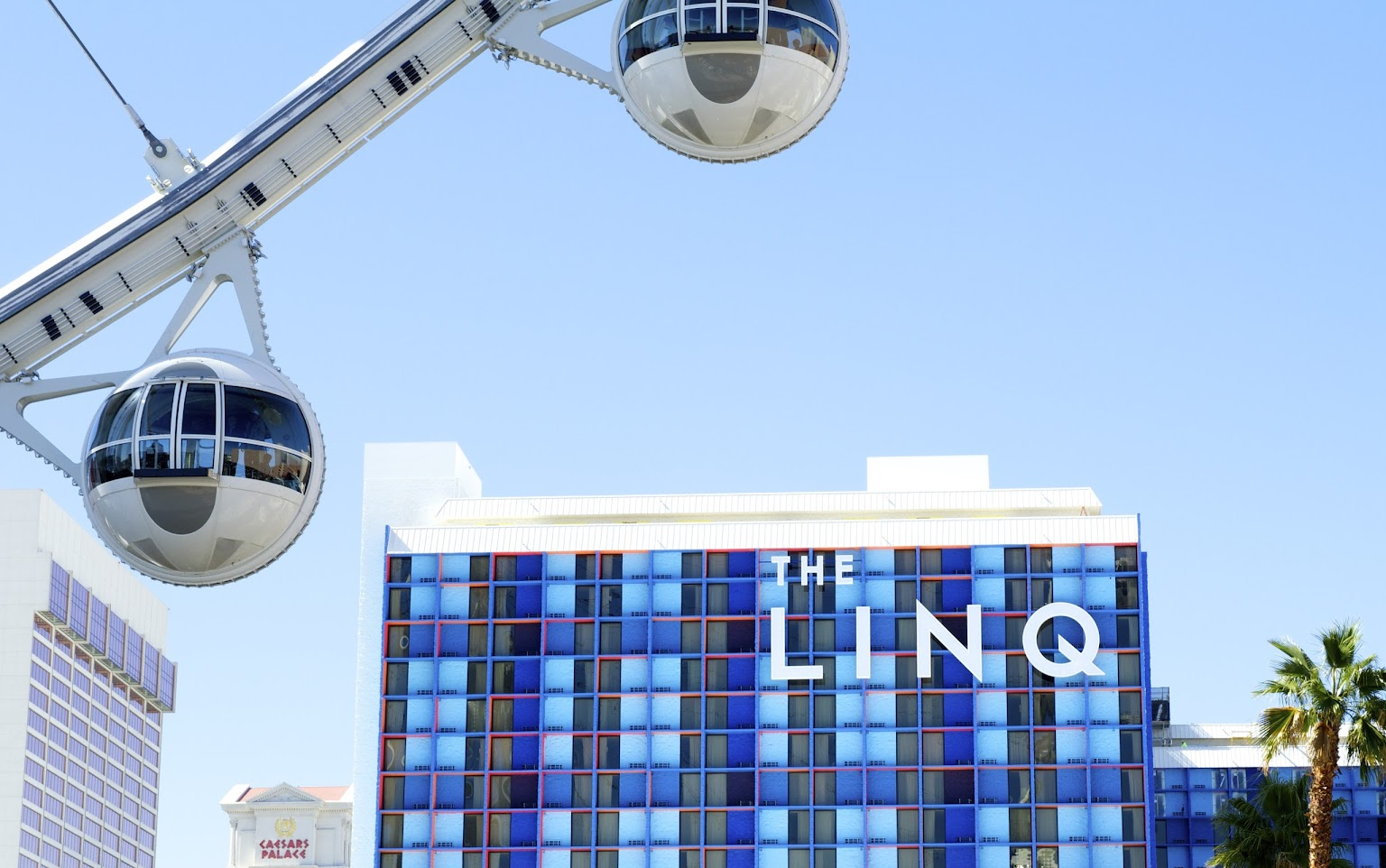 The LINQ Hotel and Casino review, Las Vegas.