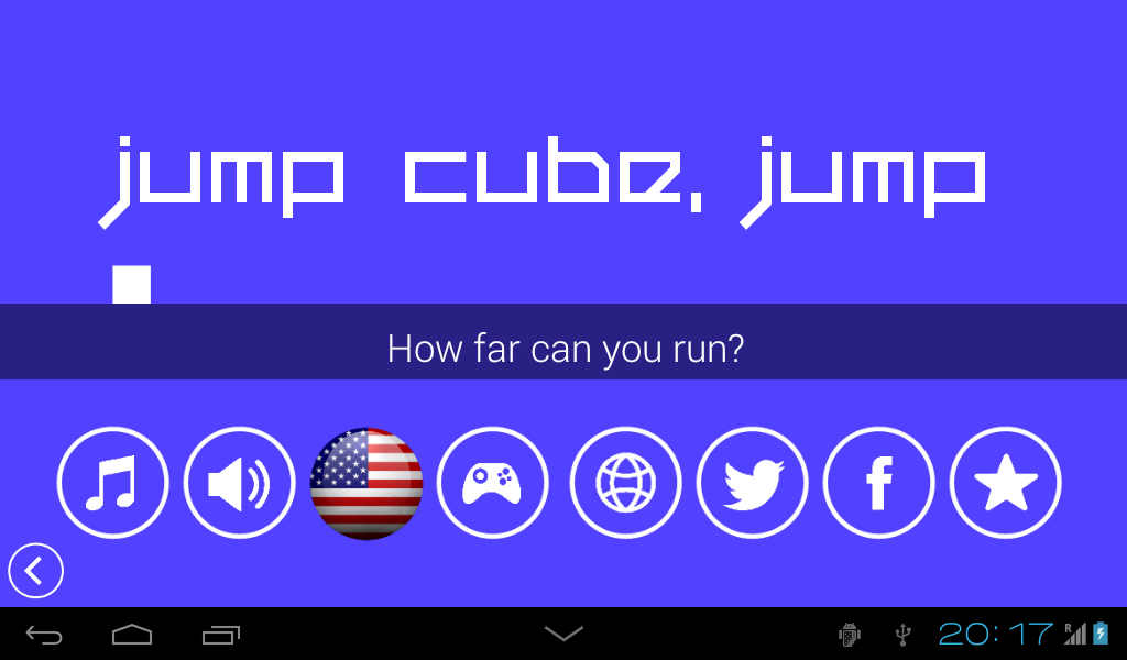 Jump Cube, Jump- screenshot