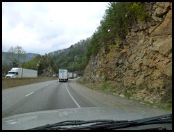 02a - I-40 Truck Lane through the mountains