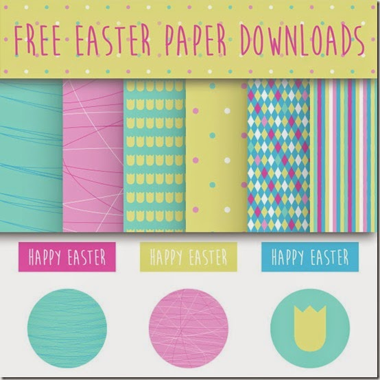 carte pasqua stampabili gratis - free easter paper download