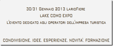 image_thumb%25255B3%25255D Hotelpedia a gennaio 2013 Tourism Think Tank Lario Fiere