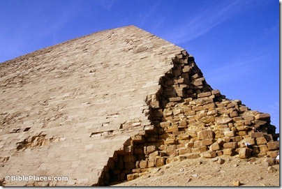 Dashur Bent Pyramid northeast corner, tbs102049811