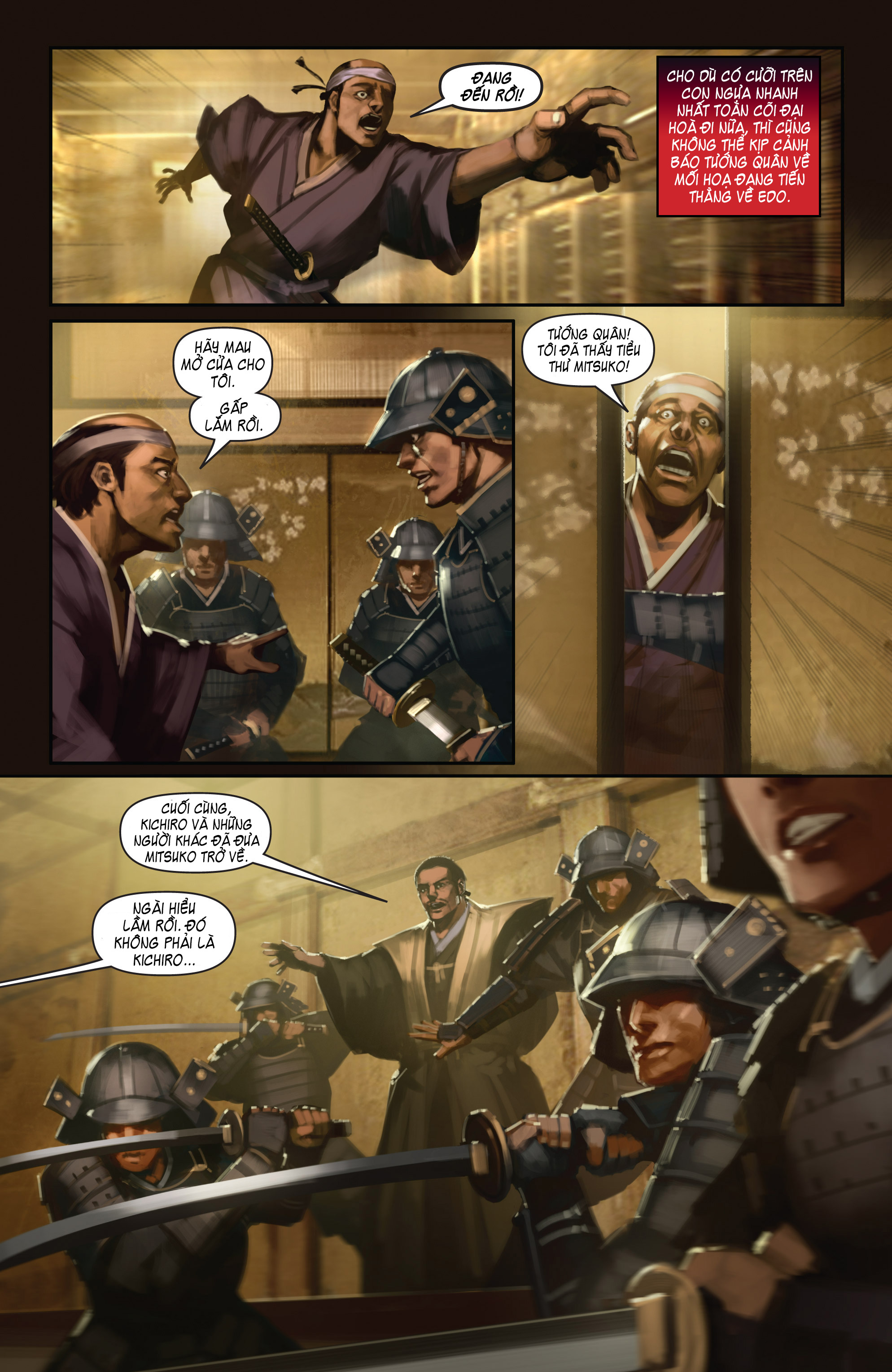 BUSHIDO - THE WAY OF THE WARRIOR chapter 5 - end trang 5