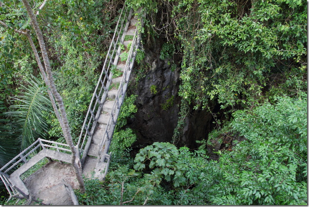 Bridge over Tapan Cave