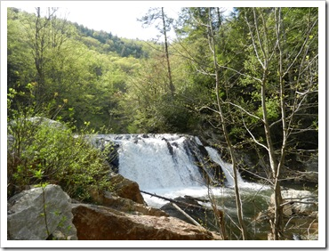 2013-04-21 Paint Creek, TN - Falls