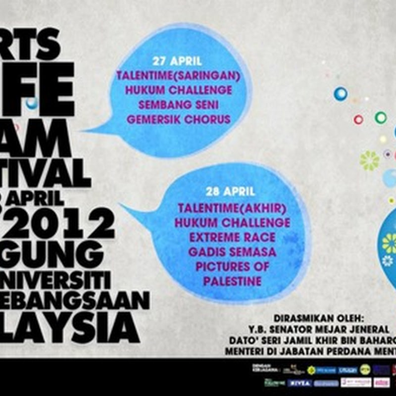 Arts Life Islam Festival(ALIF) @ UKM