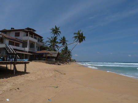 Plaja exotica Sri Lanka la Oceanul Indian