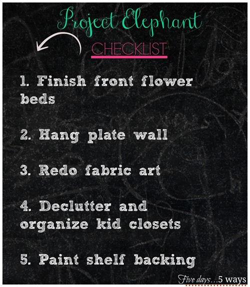 project elephant checklist1