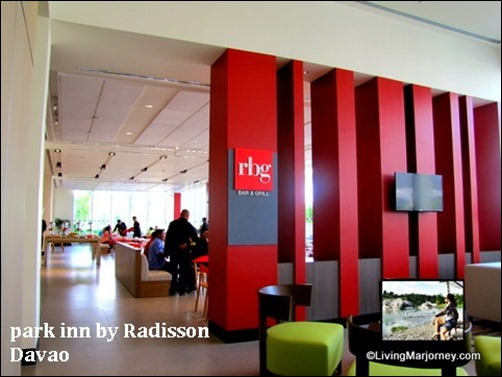 Park Inn by Radisson: RBG Bar & Grill