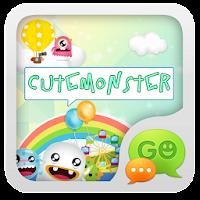 GO SMS Pro CuteMonster ThemeEX 1.0