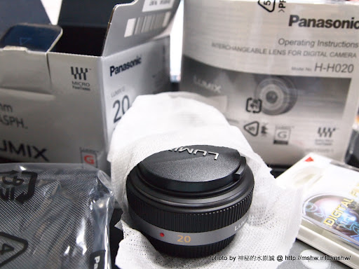 """怎辦!又敗家了= ="""" ~ Panasonic LUMIX 20mm F1.7 ASPH Micro 4/3 專用大光圈定焦鏡頭 嗜好 攝影"""