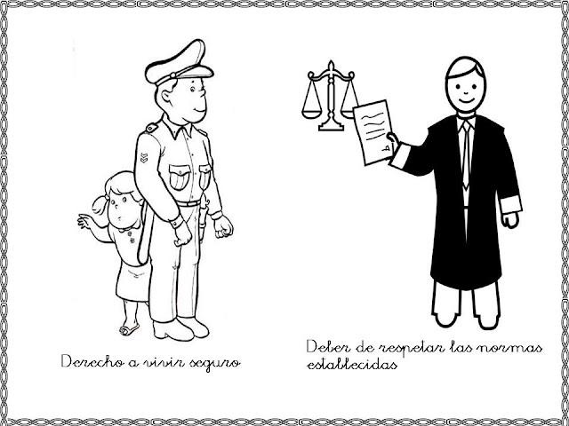 Laminas Para Imprimir Los Derechos Y Deberes Para Imprimir