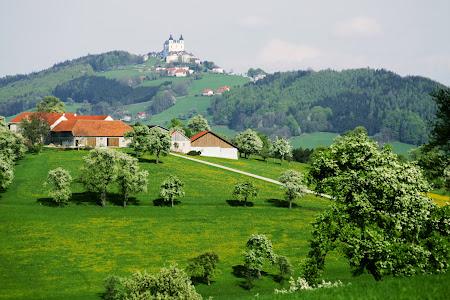 Imagini idilice Austria: Mostviertel panorama de vara