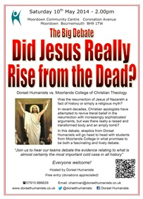 Did Jesus Really Rise from the Dead? 10 May 2014