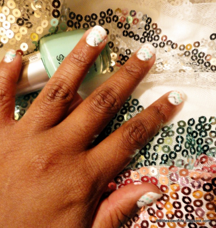 The Lite Side Of Life: Mani Monday: Pastel Waves