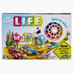 Classic Board Game for families - The Game of Life
