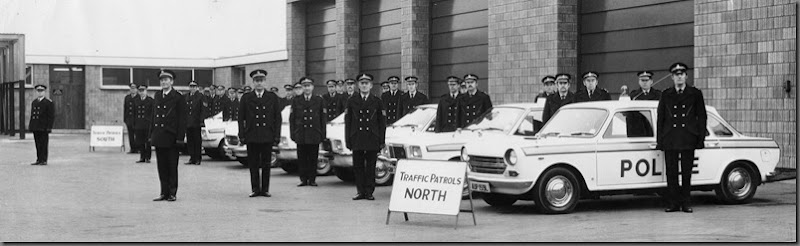 Government Inspection Durham Constabulary H.Q. 1974 (Traffic Patrols North)