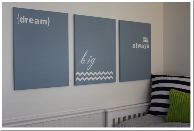 A Thoughtful Place: Big Boy Room: DIY Graphic Prints